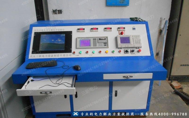 山东莱钢变压器综合测试台试验现场