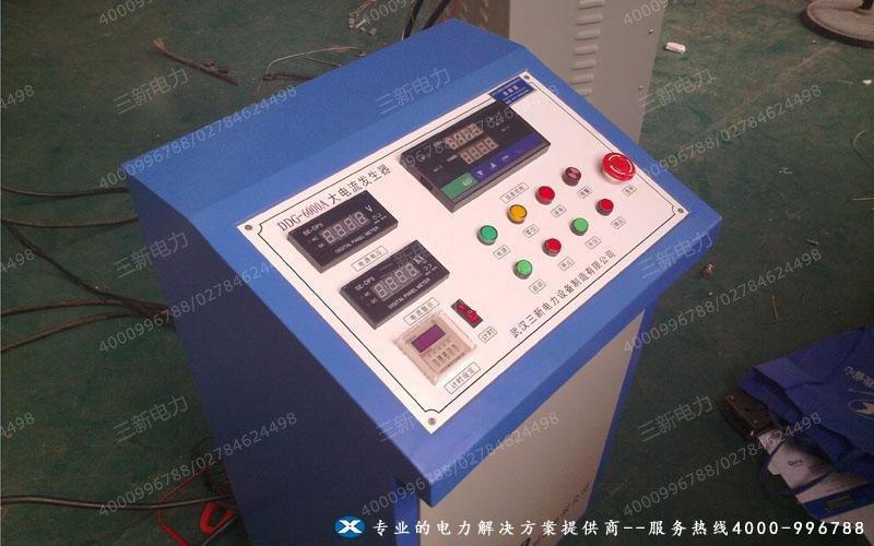 大电流发生器现场试验图