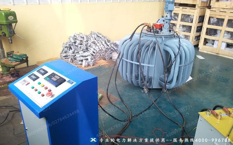 三新电力为大电流发生器现场试验提供技术指导