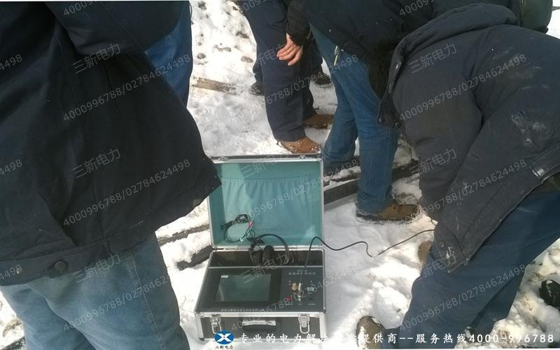 新电力为新疆嘉润集团寻找电缆故障提供技术支持,试验设备电缆故障测试仪