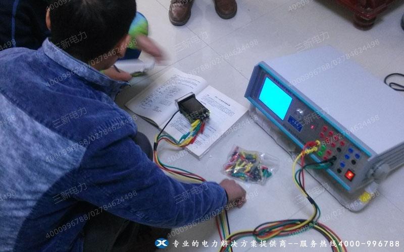SX-3300微机继电保护测试仪现场调试