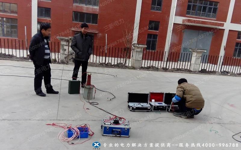 电缆故障测试仪出厂检验图