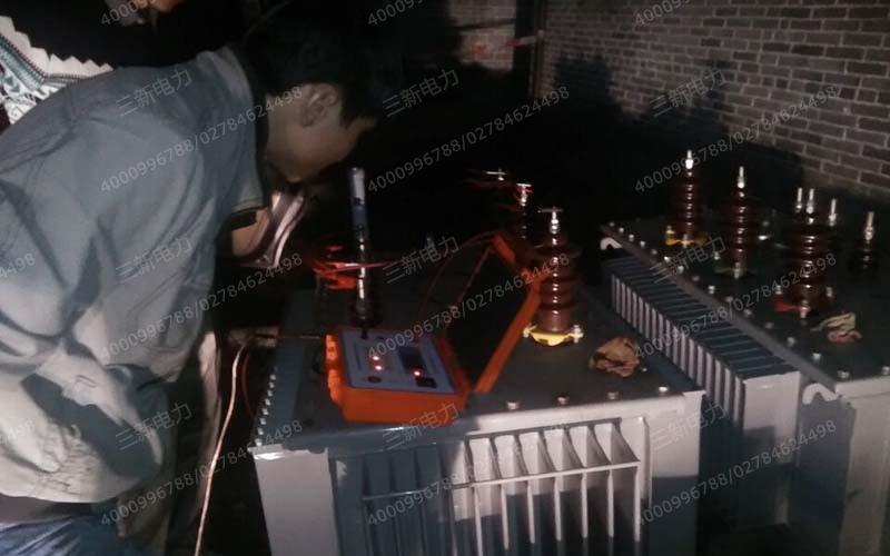 三新电力为凯德广场提供电力工程服务