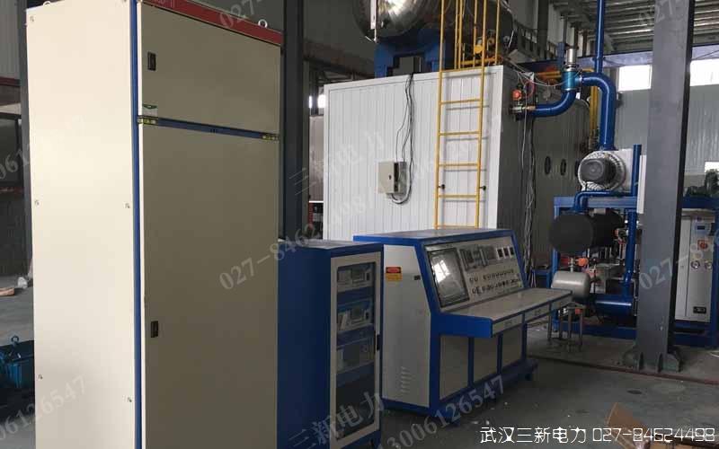 莱芜钢铁集团电机综合测试台现场试验图